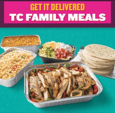 Taco Cabana Family Meal