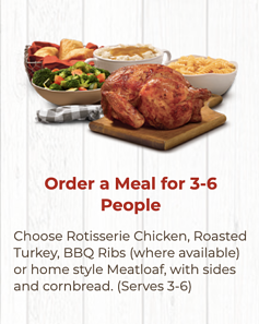 Boston Market Family Meal Covid