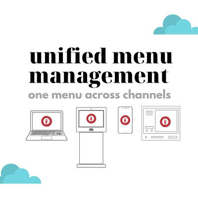 unified menu management. Efficiency made to order. (3)